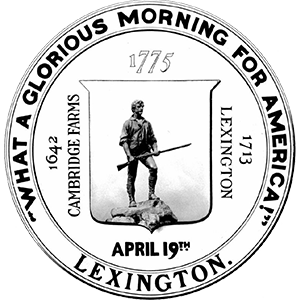 Lexington, Massachusetts town seal