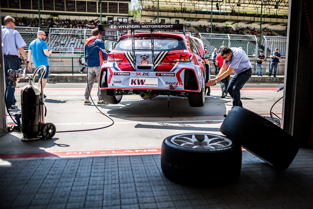 05 MICHELISZ Norbert (HUN), BRC Racing Team, Hyundai i30 N TCR, ambiance during the 2018 FIA WTCR World Touring Car cup, Race of Hungary at hungaroring, Budapest from april 27 to 29 - Photo Thomas Fenetre / DPPI