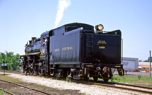 ohiocentral1293 canadianpacific1293 steamlocomotives steamengine ohiocentralsteamlocomotives sugarcreekohio