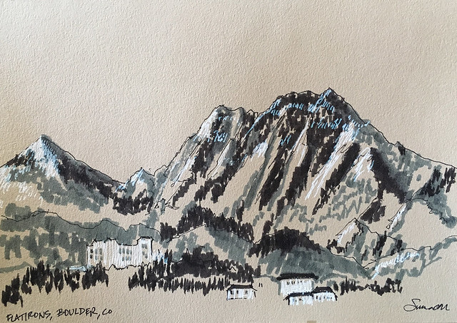 180322_Flatirons from Altitude Cafe