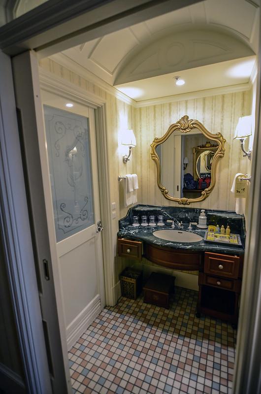 Tokyo Disneyland Hotel room sink