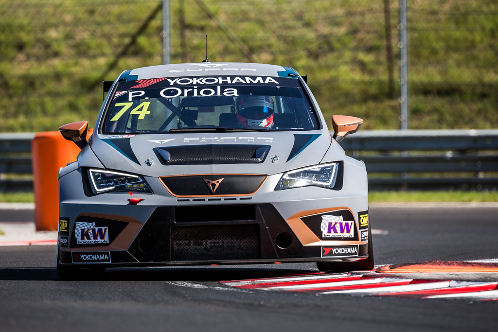 74 ORIOLA Pepe (ESP), Team Oscaro by Campos Racing, Cupra TCR, action during the 2018 FIA WTCR World Touring Car cup, Race of Hungary at hungaroring, Budapest from april 27 to 29 - Photo Thomas Fenetre / DPPI