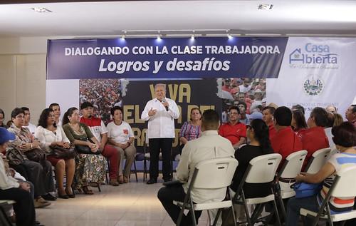 Casa Abierta: Dialogando con la clase Trabajadora Logros y Desafíos.