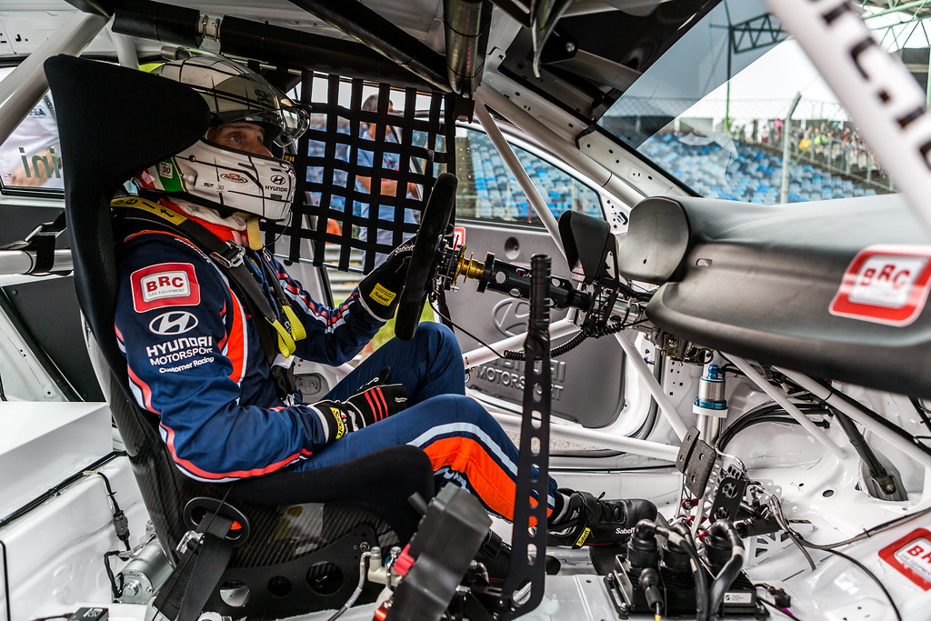 TARQUINI Gabriele (ITA), BRC Racing Team, Hyundai i30 N TCR, portrait during the 2018 FIA WTCR World Touring Car cup, Race of Hungary at hungaroring, Budapest from april 27 to 29 - Photo Thomas Fenetre / DPPI