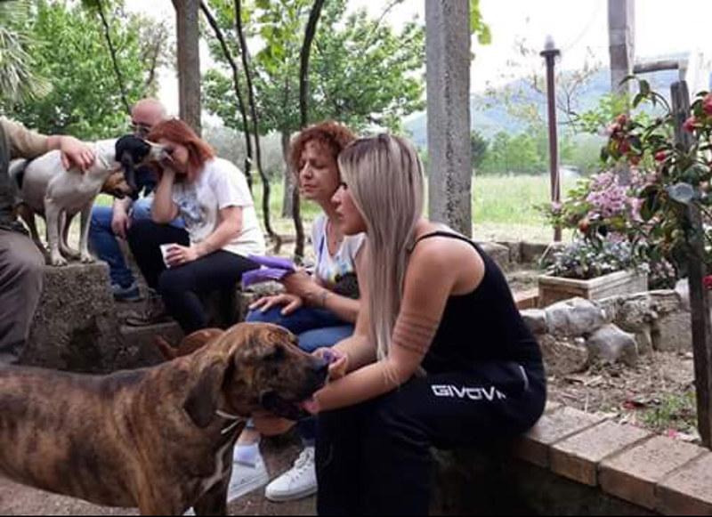 Giornata in ricordo di Flora, cagnolina uccisa a Sanza 2