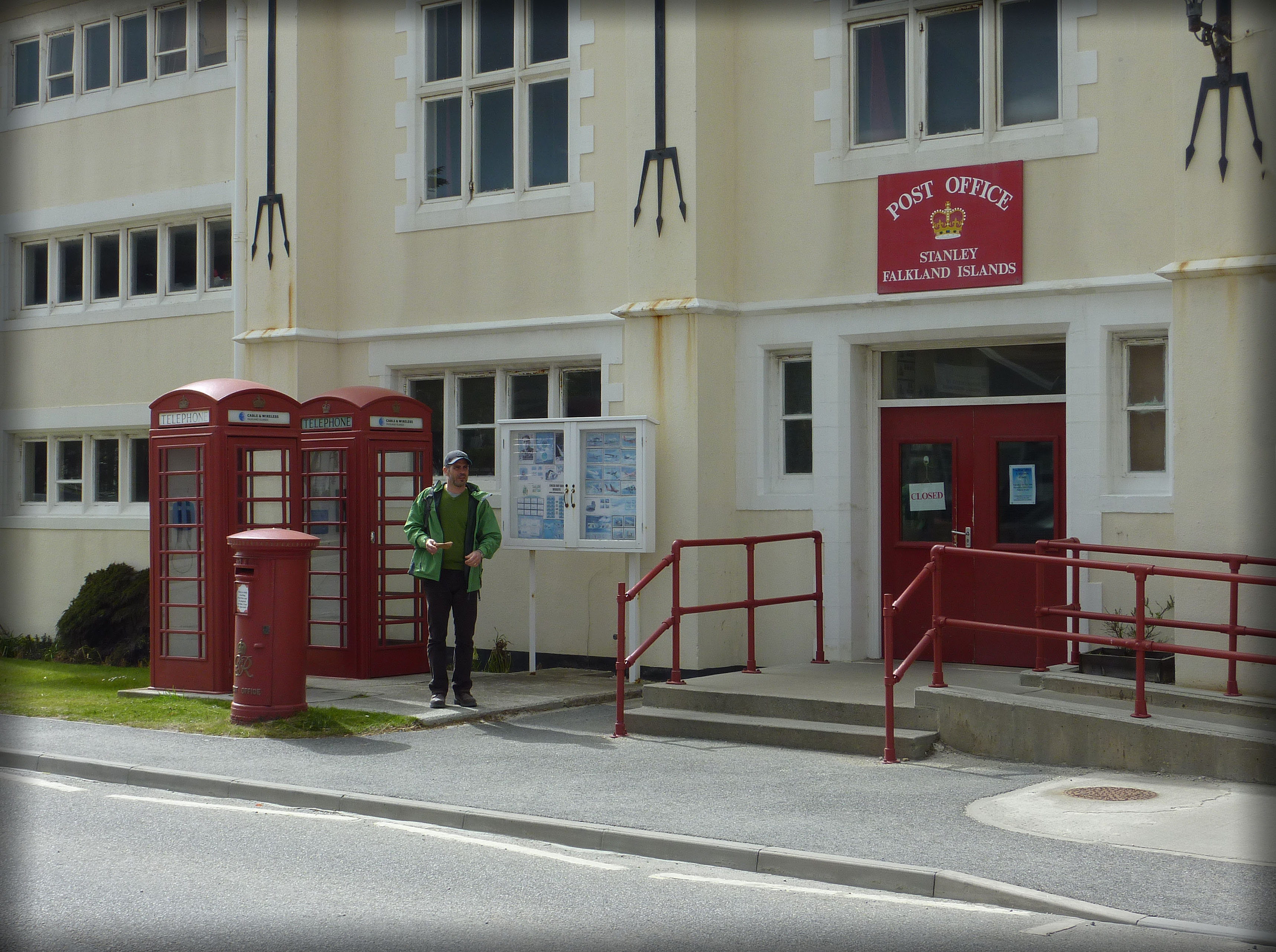 Post office at Port Stanley, Falkland Islands. Photo taken on December 26, 2010.