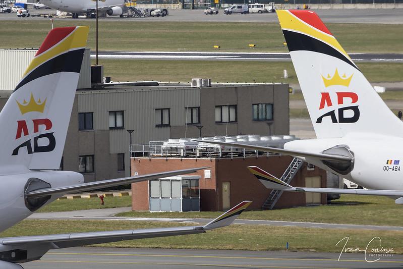 Airbus A340-313 – Air Belgium – OO-ABA – Brussels Airport (BRU EBBR) – 2018 03 29 – Pushback – 04 – Copyright © 2018 Ivan Coninx