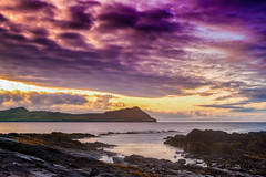 Posta de sol a Dingle peninsula