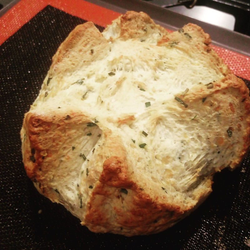 Cheese & Chive Damper