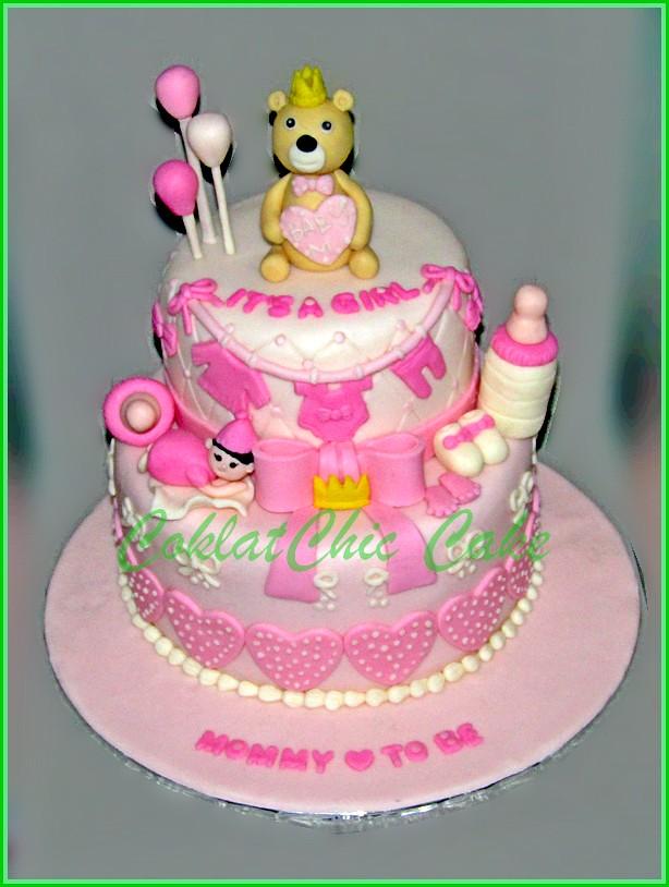 Cake Baby 15 cm dan 12 cm