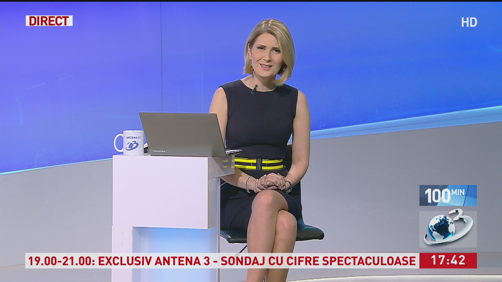 Toți ochii pe Sandra Stoicescu