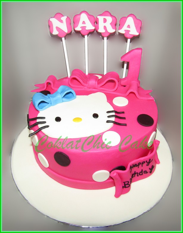 Cake Hello Kitty NARA 20 cm