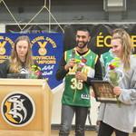 Lauren Walkley and Nick Sarai speak at South Kam (Apr 12, 2018)