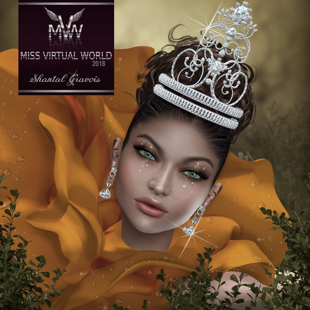 SHANTAL GRAVOIS - MISS VIRTUAL WORLD 2018