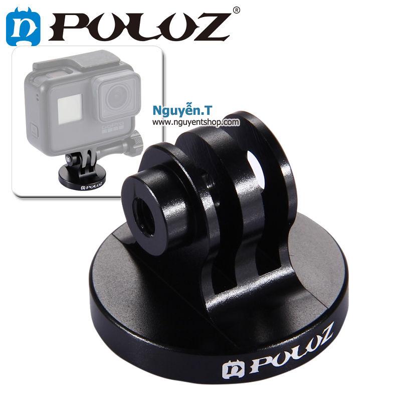 Đế mount NHÔM CNC gắn GoPro lên tripod chân máy ảnh chính hãng PULUZ