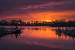 Blagdon Water sunset | by 1 other people