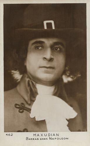 Max Maxudian in Napoleon (1927)