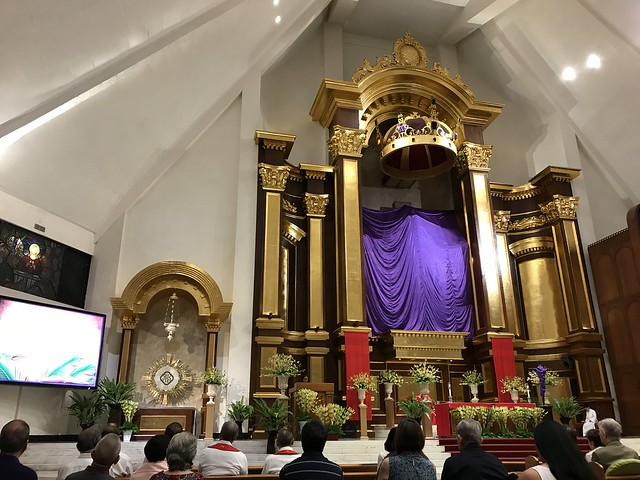 Christ the King altar,  March 24, 2018