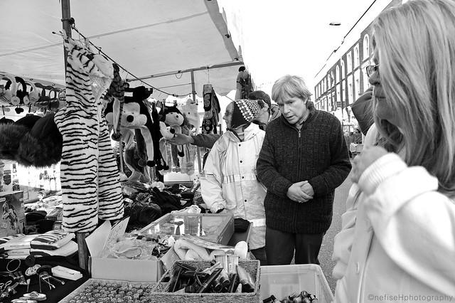 Well Street Market, Hackney E9, London