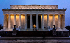 The Lincoln Memorial. Washington, D.C.