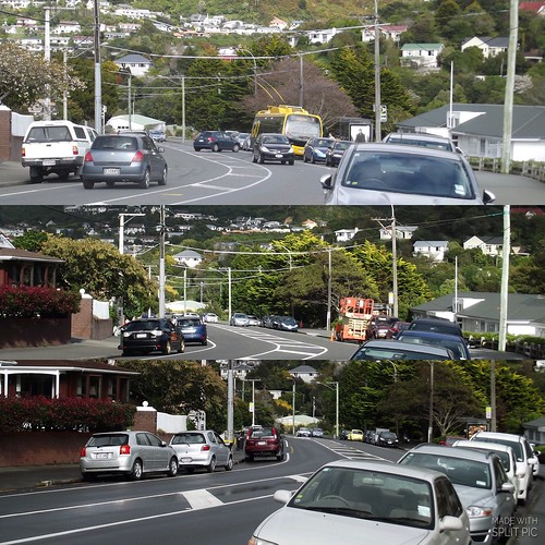 <p>The trolleybus wires were removed along the short stretch of road between Richmond Ave and the Karori Park terminus on nights of April 4/5 and 5/6. 2018.</p>