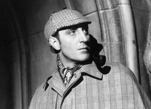 Sherlock Holmes Basil Rathbone baskervilles 2