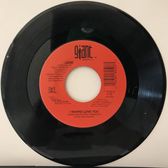 JADE:I WANNA LOVE YOU(RECORD SIDE-B)