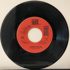 JADE:I WANNA LOVE YOU(RECORD SIDE-A)
