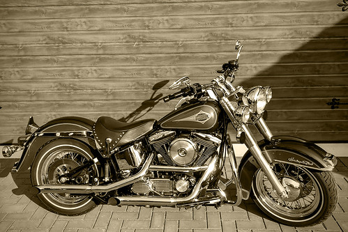 My old Harley