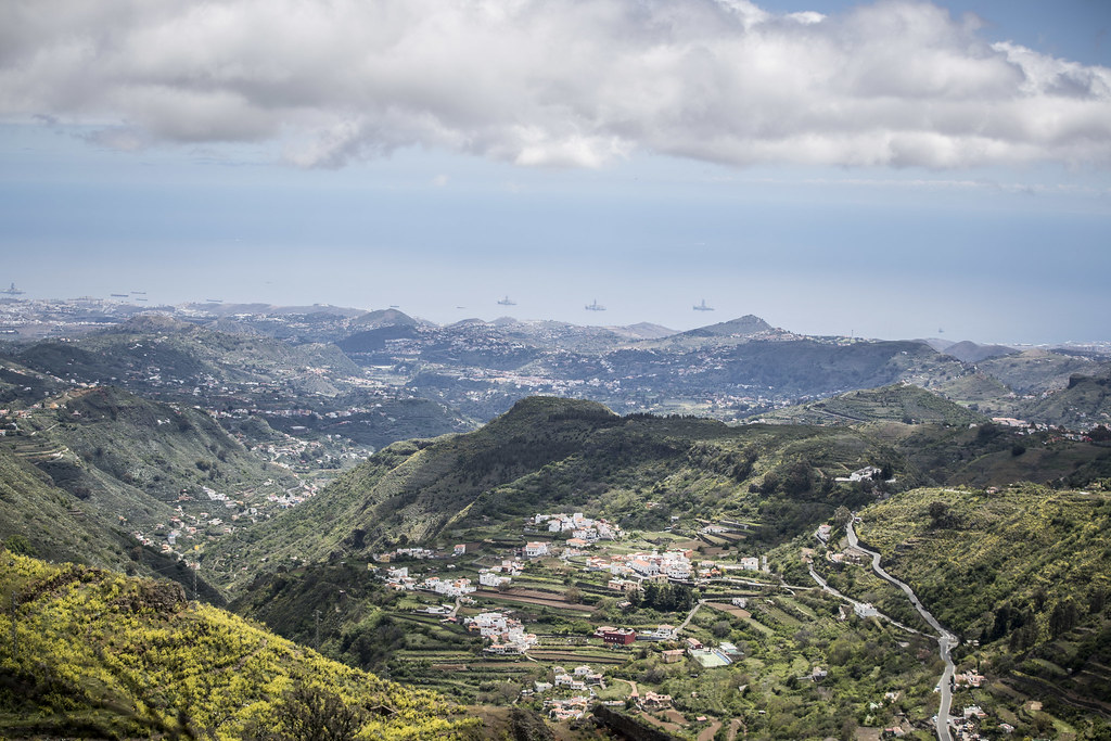 Landscape during the 2018 European Rally Championship ERC Rally Islas Canarias, El Corte Inglés,  from May 3 to 5, at Las Palmas, Spain - Photo Gregory Lenormand / DPPI