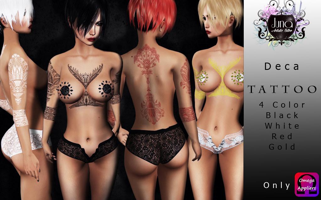 Deca tattoo - TeleportHub.com Live!
