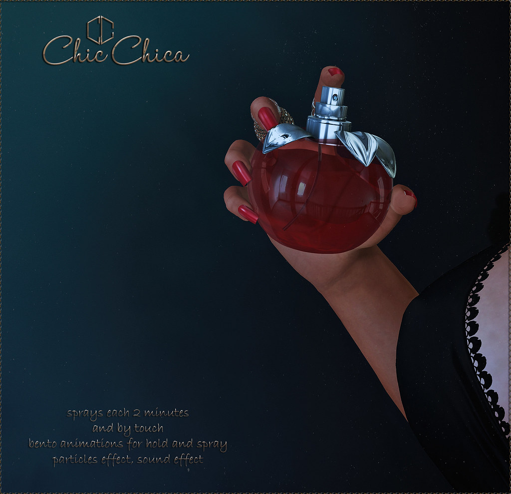 Seduction perfumes by ChicChica @ Cosmopolitan soon - TeleportHub.com Live!
