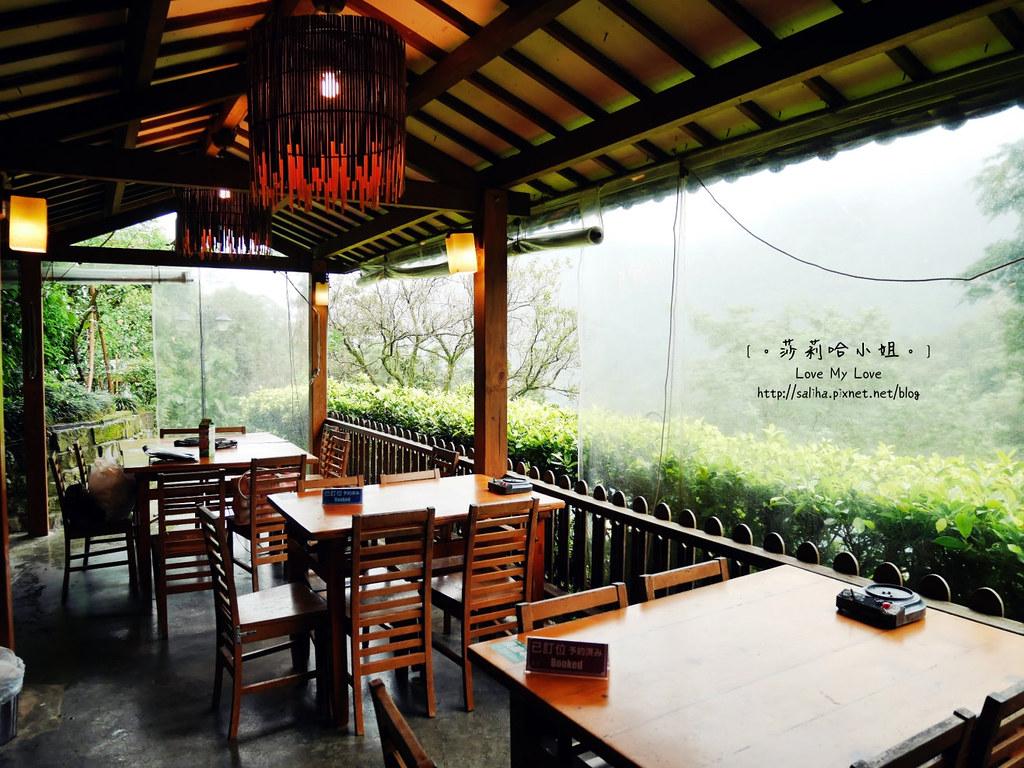 台北貓空景觀森林戶外餐廳推薦邀月茶坊 (2)