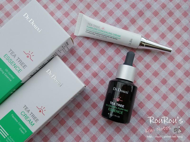 DR.DOUXI茶樹控油淨化凝露×茶樹遮瑕調理霜2