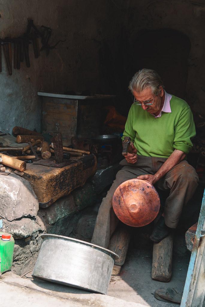Metal worker, Mardin