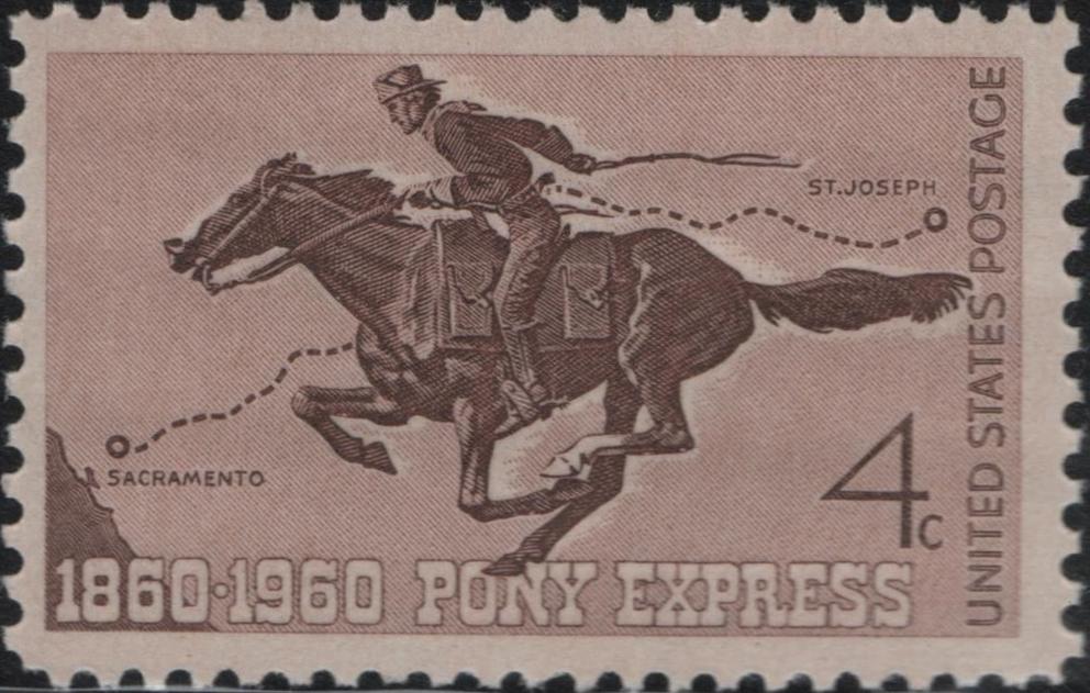 United States - Scott #1154 (1960)