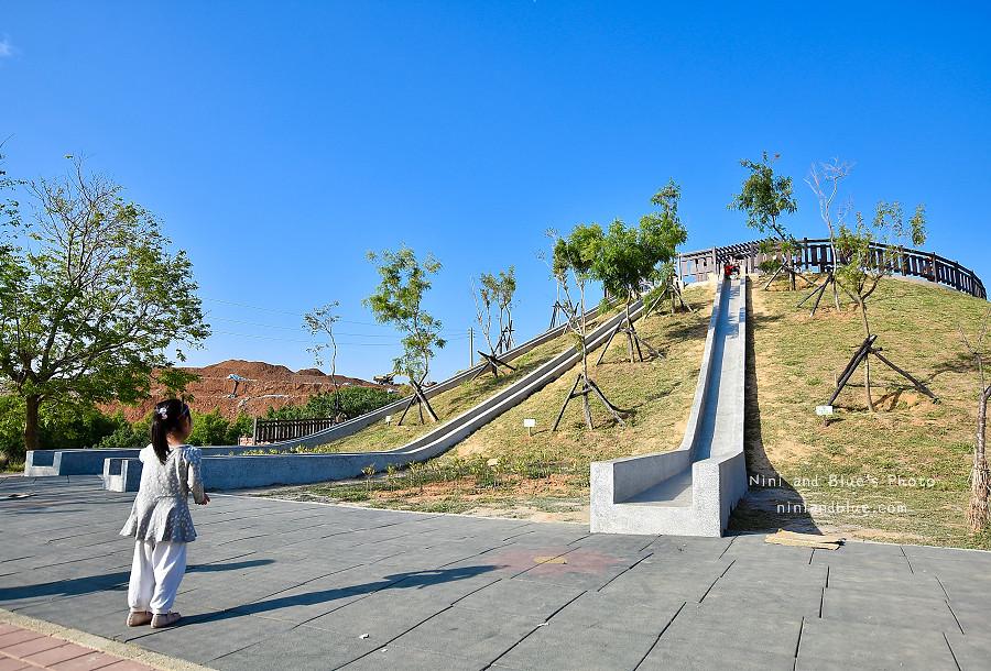 大雅中科公園|復古磨石子滑梯01