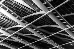 structure des halles de Paris