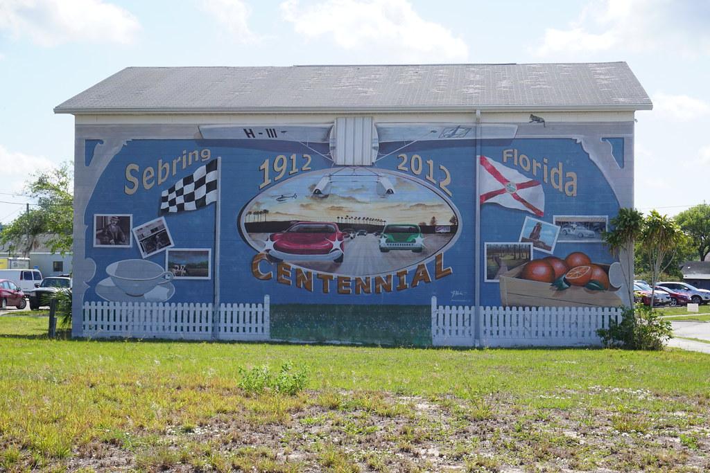 Mural in Sebring, Florida