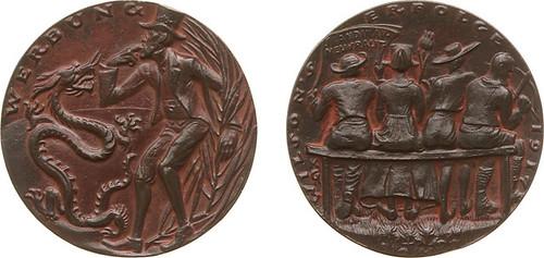 1917 Wilson's Successes Goetz Medal