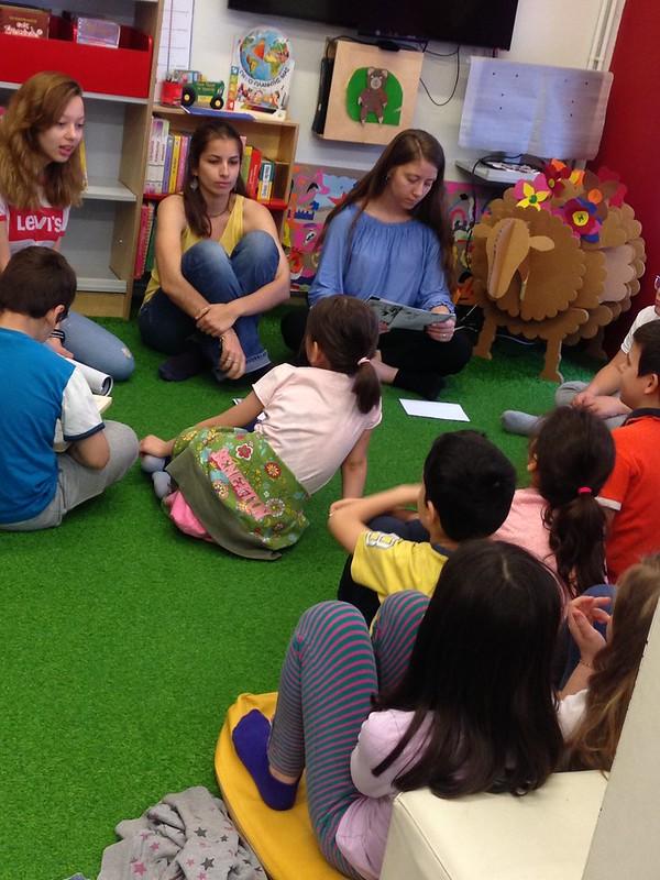 Παίζουμε με τα βιβλία, γνωρίζουμε τη βιβλιοθήκη! 30/4/2018