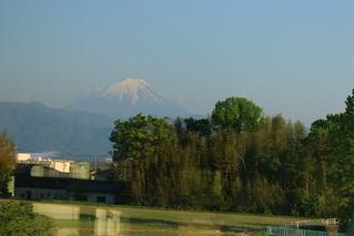 トランスイート四季島から見る富士山