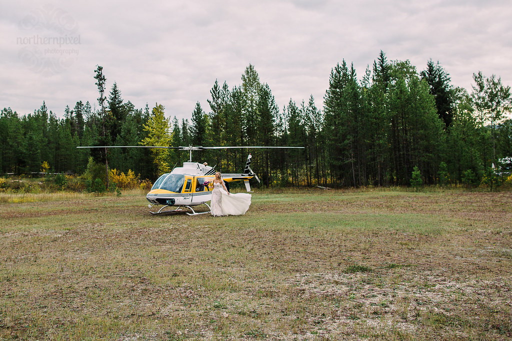 Yellowhead Helicopter Wedding - Valemount BC