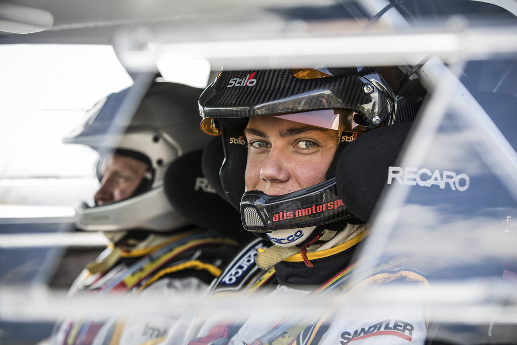 32 SESKS Martin, RENARS Francis, Adac Opel Rallye junior team, OPEL ADAM R2, action during the 2018 European Rally Championship ERC Rally Islas Canarias, El Corte Inglés,  from May 3 to 5, at Las Palmas, Spain - Photo Gregory Lenormand / DPPI