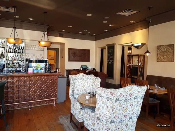Trattoria Gusto smaller dining room