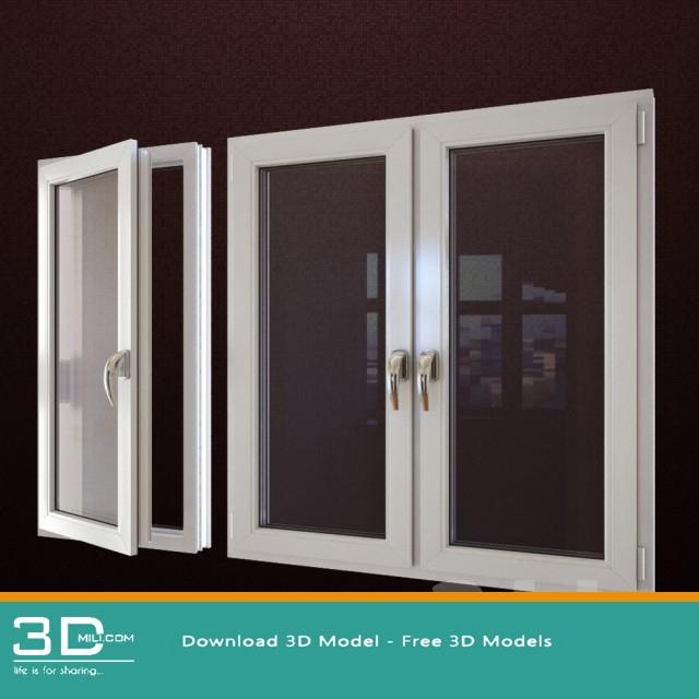 73 Window 3dsmax Model Free Download 3d Mili Download