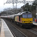 ColasRailFreight 60026 diverted 6S36 Dalston Oil Terminal to Grangemouth Ineos