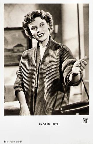 Ingrid Lutz in Die vertagte Hochzeitsnacht (1953)