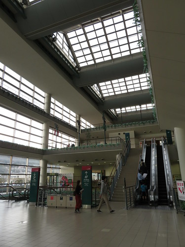 福島競馬場の3階裏手