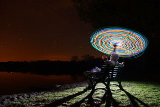 Third party lightpainting